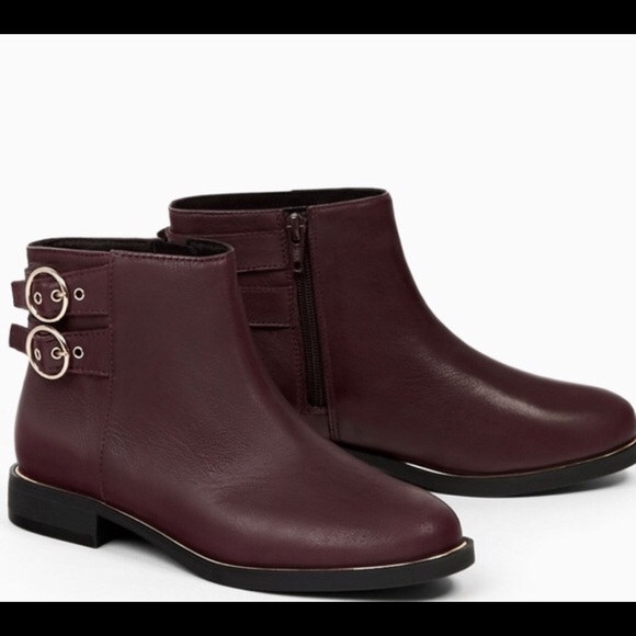 girls leather ankle boots